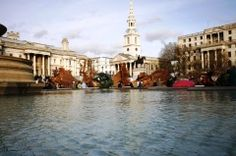 """Trafalgar Square, London """"10 Most Photographed Places on Earth"""""""