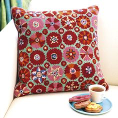 New Kaffe Fassett needlepoint canvas --  Suzani - from Ehrman Tapestry