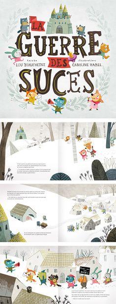 Caroline Hamel_illustration Graphic, Illustration, Design, Illustrations, Design Comics