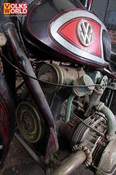 VW Von Dutch Motorbike