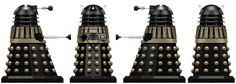 Post-Time War Supreme Dalek by Librarian-bot on DeviantArt Post Time, Doctor Who Art, Don't Blink, Dalek, Comic Styles, Dr Who, Mug Shots, Supreme, War