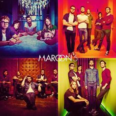 Maroon 5... I have loved them since I was in kindergarten and now i am going into 8th grade... Dear love!