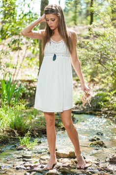 Lighthearted Love Dress, White from The Mint Julep Boutique. Saved to dresses. Shop more products from The Mint Julep Boutique on Wanelo.