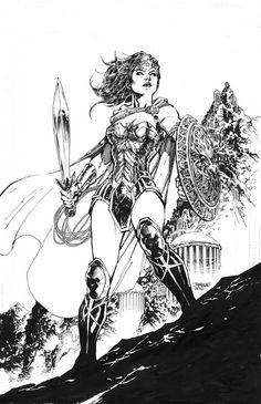 Wonder Woman by Jim Lee                                                                                                                                                                                 More