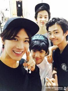 Ten,Mark,Jisung and Jaemin  #RookiesApp