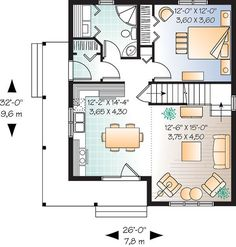 First Floor of Plan ID: 28554