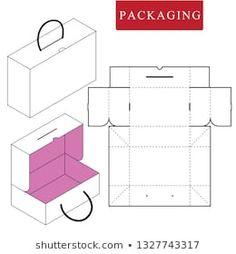 Shoe Box Design, Paper Bag Design, Diy Gift Box, Diy Box, Box Packaging Templates, Paper Box Template, Printable Box, Creative Box, Packaging Design Inspiration