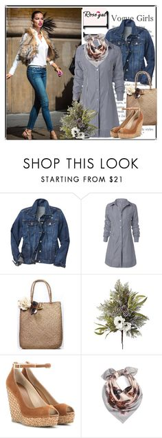 """vogue girls"" by barones-tania ❤ liked on Polyvore featuring Gap, Frontgate, Jimmy Choo and Valentino"