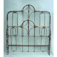 Did queen beds not exist back in the day? Can't seem to find an antique wrought iron bed frames for queen bed...