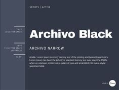 Archivo black The rules of combining two fonts and style text with great examples. Guide to professional font pairing, type combination, to achieve a formal, minimalist branded look. Font pairing layout inspiration ideas, pairing sans serif with serif types, to find the best font pairs for your brand identity, squarespace, wordpress, or wix website, personal blog article, print or Canva project.
