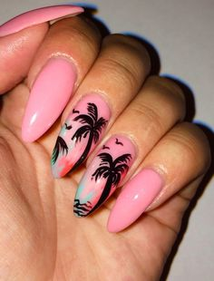 # Palm Tree Nails