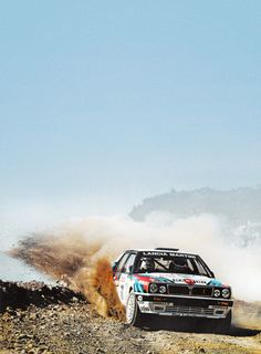 Classic Car News Pics And Videos From Around The World Rallye Wrc, Course Automobile, Hatchback Cars, Martini Racing, Lancia Delta, Rally Car, Car And Driver, Vintage Racing, Car Wallpapers