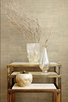 Textured wall paper