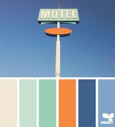 Design Seeds: color kitsch 07.30.13