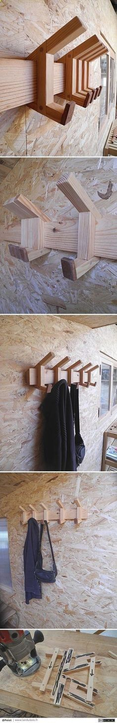 Teds Wood Working - Patères coulissantes par Peiot - Je me creuse la tête depuis quelques jours pour fabriquer des patères coulissantes. Jai fait un premier prototype, un deuxième... et voici le troisième. Il est en pin et en sipo. Le système fonctionne... - Get A Lifetime Of Project Ideas & Inspiration!