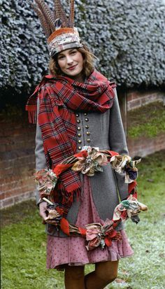 Christmas scarf maybe, but can be worn anytime!