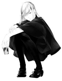 Sawasawa Monochromatic Art, Monochrome, Manga Poses, Manga Characters, Black N White, Art Blog, Character Design, Character Art, Queen