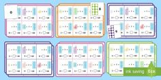 Number Shapes: Number Bonds to 10 Bingo Number Bonds To 10, Class Activities, Numeracy, Bingo, How To Introduce Yourself, Periodic Table, Shapes, Teaching, Words