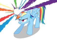 If Rainbow Dash was an Alicorn. by Neriani on DeviantArt My Little Pony 1, My Little Pony Drawing, My Little Pony Pictures, My Little Pony Friendship, Rainbow Dash, Little Poni, She Ra Princess Of Power, Twilight Sparkle, Cute Cartoon Wallpapers