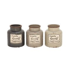 Charming Family Jar Assorted 3