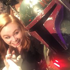 when you finally meet Boba Fett and show him your nails and tell him how much you love him and he is not amused AT ALL.  #LIFEMADE by haleym12