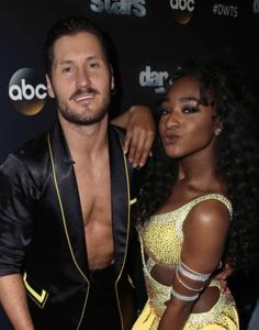 Val and Normani Kordei DWTS