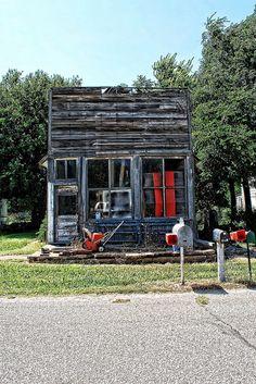 Abandoned Storefront, Ashton Kansas | Flickr - Photo Sharing!