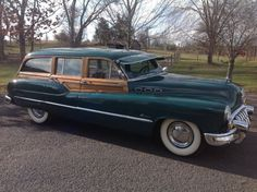 1950 Buick Super Estate Wagon