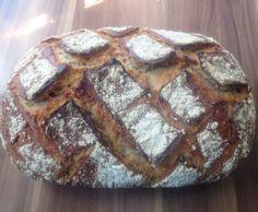 Rezept Dinkel-Roggen-Brot (weizenfrei) für Zaubermeister von doughman - Rezept der Kategorie Brot & Brötchen