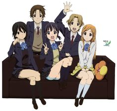 Kokoro Connect Anime (seen)/Light Novel (see/read) Anime Group Of Friends, Friends Group Photo, Friend Anime, Good Anime To Watch, I Love Anime, Me Me Me Anime, Anime Guys, Kokoro Connect, Otaku
