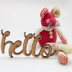 Say Hello Again ...  #personalized #Wooden #Lettering #wedding #decoration #Letras #madera #personalizadas #decorar #boda #otsowooddesign #otso #wooddesign #love #deco #custom #weddingdetails #otsowooddesign