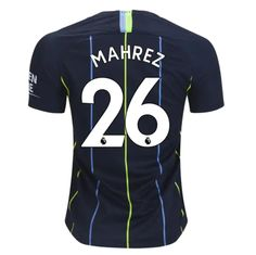 f67f1382bac Manchester City 18/19 Away Men Soccer Jersey Personalized Name and Number