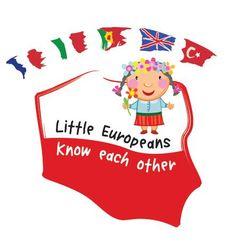 "Polskie logo projektu ""Little Europeans Know Each Other"""