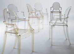 Entre Influences et Inspirations - Chaise Louis Ghost par Philippe Starck