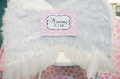 Thank Heaven Baby Shower Mom to be Chair Decor - Bella Paris Designs