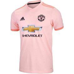 b9325fa928 2018/19 adidas Manchester United Away Jersey. At SoccerPro. Football Kits,  Old