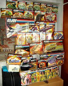 GI Joe International Collection Display