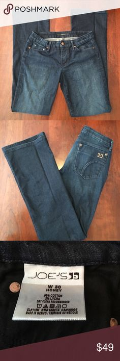 EUC JOES JEANS 👖 Joe's jeans, the honey dark wash (Naomi wash)! Excellent used condition! Few signs of wear! Joe's Jeans Jeans Flare & Wide Leg