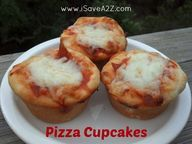Pizza cupcakes recip