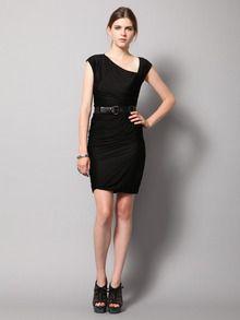 Asymmetrical Jersey Knit Dress by Doo.Ri at Gilt
