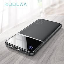 Load image into Gallery viewer, KUULAA Power Bank Portable Charging PowerBank 10000 mAh USB PowerBank External Battery Charger For Any Smartphone Phone Battery Charger, External Battery Charger, Phone Cradle, Iphone Mobile Phone, Bluetooth Earbuds Wireless, Portable Charger, Smartphone, Usb, Sport