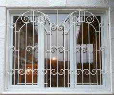 Modern Window Grill, Home Window Grill Design, Window Design, Wrought Iron Window Boxes, Window Security Bars, Wrought Iron Gate Designs, Wooden Front Door Design, Modern Tv Wall Units, Modern Windows
