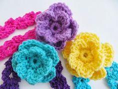 Crochet Dreamz: Arianna Headband, Free Crochet Pattern for Spring