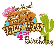 Sheriff Callie's Wild West DIY Birthday Party by sweetleighmama, $5.99