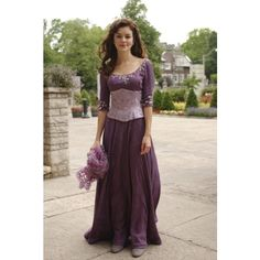 """Monday at the Movies ABC Family's """"Princess"""" ❤ liked on Polyvore featuring medieval, medieval commoner and medieval gown"""