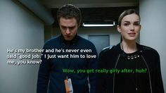 Fitz just wants Ward to be proud of him while Simmons just wants Fitz to be a man. || Leo Fitz, Jemma Simmons || Agents of B.L.U.T.H. || 736px × 414px || #fanedit #humor #fitzsimmons