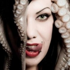 Check out Mz Ann Thropik on ReverbNation Octopus Squid, Octopus Art, Girls And Corpses, Punk Goth, Tentacle, Model Photographers, Model Mayhem, Blue Moon, Electronic Music