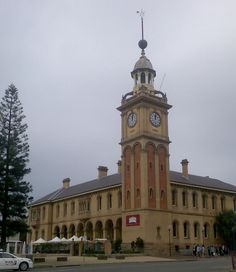Customs House, Newcastle NSW - Now a fine hotel and restaurant. Opposite the railway station.