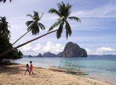 Corong Corong Beach, El Nido, Palawan.