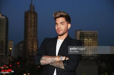 Adam Lambert poses during the Voice Live Finals Show Launch on July 29, 2015 in Sydney, Australia.  (Photo by Don Arnold/WireImage)